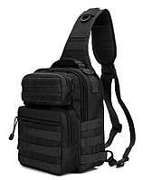 Однолямочный тактичний рюкзак-сумка Falcon monostrap, фото 1