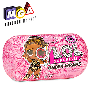 Игровой набор с куклой ЛОЛ Серия 4, Секретные месседжи в дисплее - L.O.L., Under Wraps, Eye Spy, S4, W2, MGA