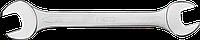 Ключ с открытым зевом, двухсторонний, 10 x 11 мм 09-810