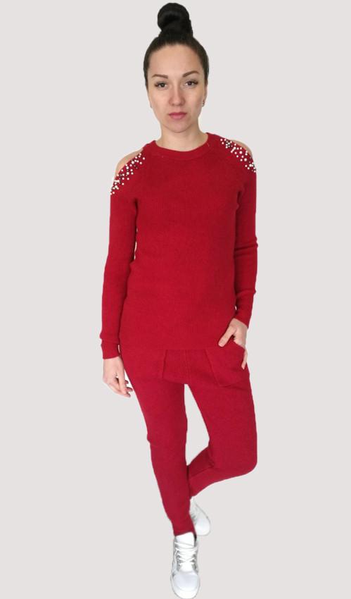 Спортивный костюм Oscar Fur 5 красный