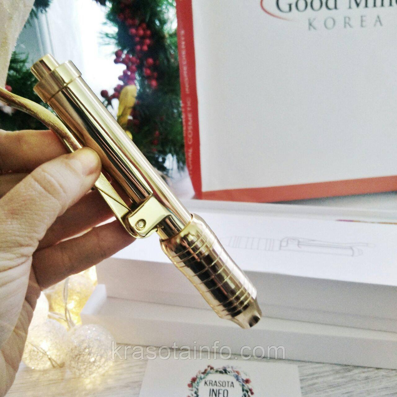 Акция! Hyaluron Pen Gold + ВИДЕОКУРС обучения в подарок Гиалуронпен Аппарат для безинекционный