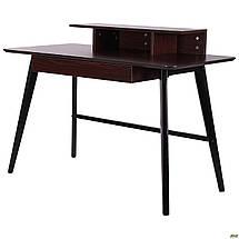 Компьютерный стол Bulgakov черный/орех темный ТМ AMF, фото 2