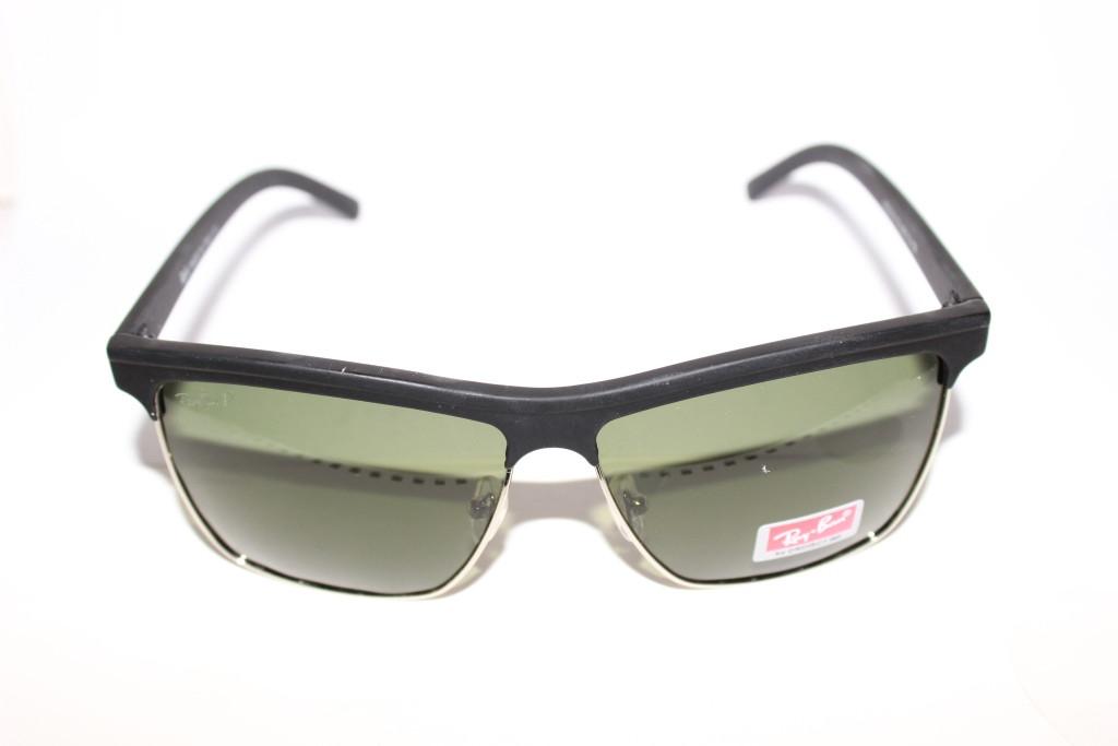 Очки Ray-Ban Wayfarer Черные Поляризация UF400 Классика Хит 2015 Клабмастер Уейфэра