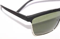 Очки Ray-Ban Wayfarer Черные Поляризация UF400 Классика Хит 2015 Клабмастер Уейфэра , фото 3