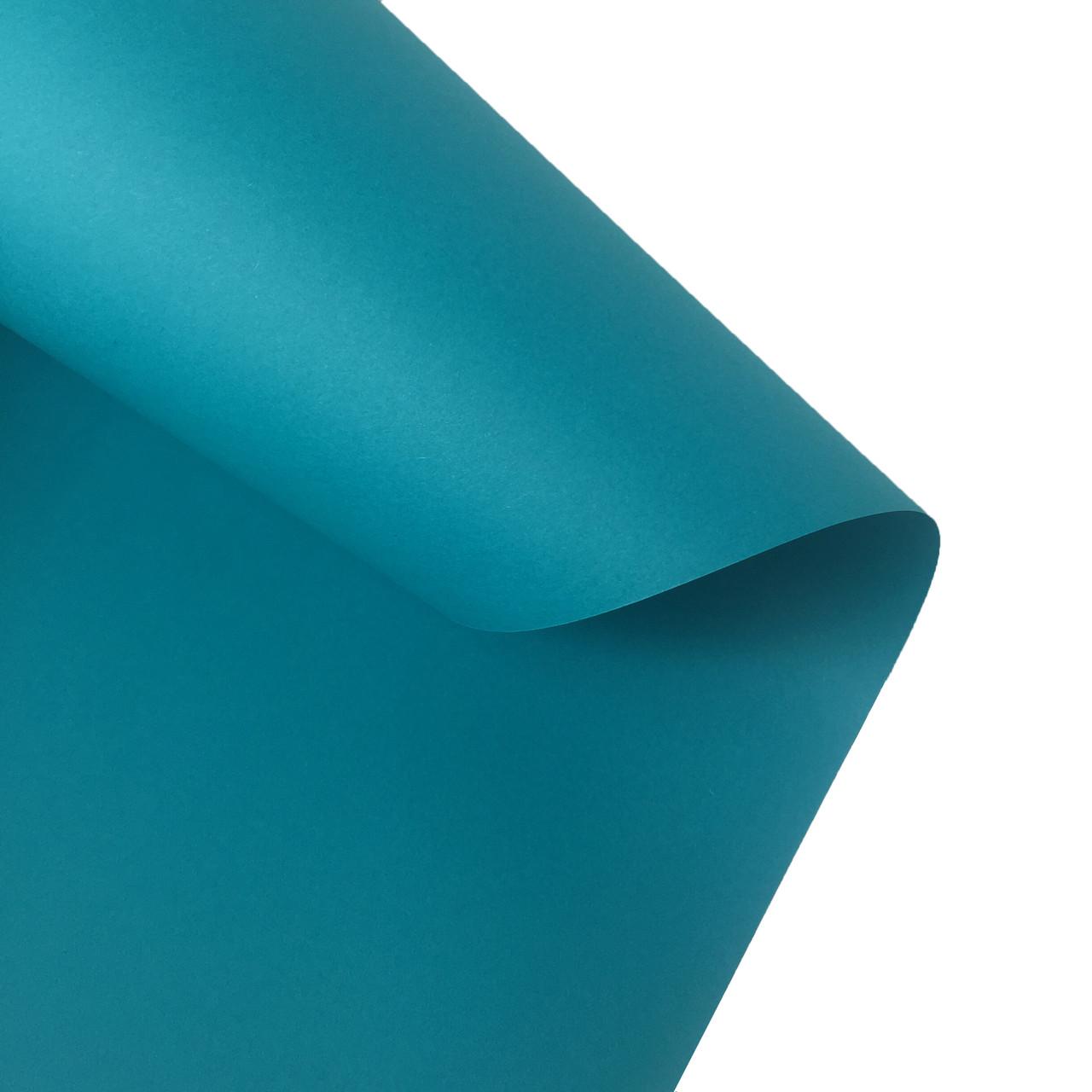 Бумага цветная Folia 130 г/м2, 50 x 70, бирюзовая