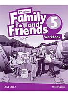 Family and Friends Level 5 Workbook, second Edition