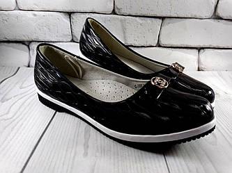 Туфлі чорні для дівчинки Tom.m 32-37