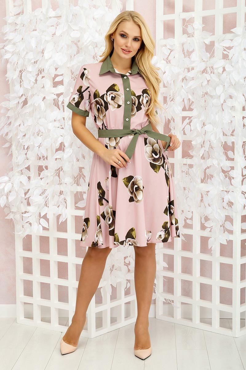 Платье летнее Молли орхидея