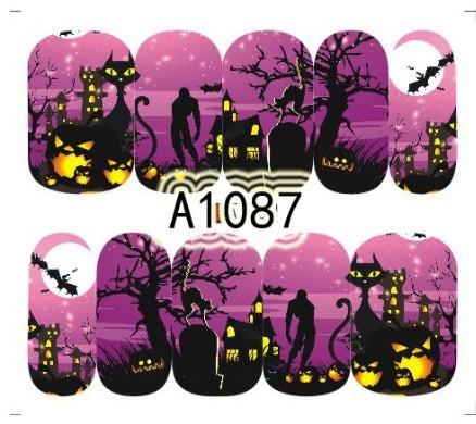 Слайдер-дизайн для ногтей A-1087 6.2*5.2 см