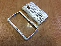 Бампер-накладкадля Sony Ericsson Xperia mini pro/SK17i (белый)