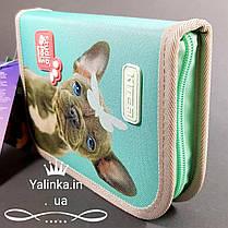 Пенал без наполнения Kite Education Studio Pets SP19-621 на 1 отворот, фото 2
