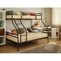 Двухъярусная трехместная кровать Smart