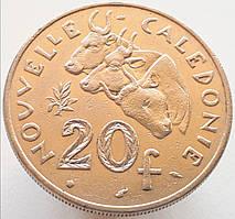 Новая Каледония 20 франков 1983