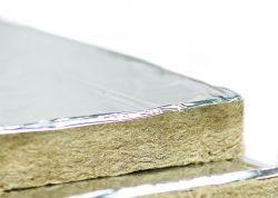 Базальтовая минеральная плита  Firebatts  Alu
