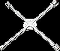 """Ключ балонный, крестовой  усиленный 17 x 19 x 22 мм, 1/2"""" Topex 37D313"""