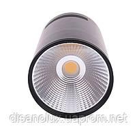 Світильник світлодіодний LED Світильник накладної COB 5W чорний 4000К, фото 2