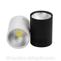 Світильник світлодіодний LED Світильник накладної COB 5W чорний 4000К, фото 3