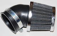 Фильтр нулевого сопротивления открытый Ø42мм косой под 45º