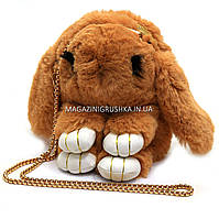Сумочка детская кролик CLG17029 - 3 цвета Коричневый