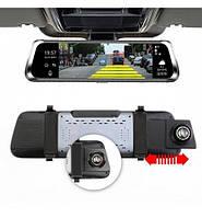 Умное зеркало регистратор камера заднего вида HD-10 10 дюймов 5MP +АV-In /Угол-140 cенсорный, фото 1