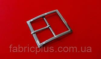 Пряжка декоративная 37 мм черненная, металл