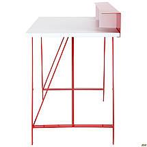 Компьютерный стол Mayakovsky красный/белый ТМ AMF, фото 3
