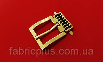 Пряжка металлическая 22 мм золото