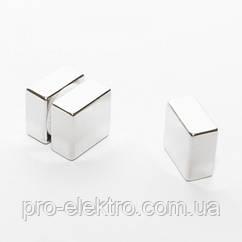 Неодимовый магнит квадрат 20х20х10 мм