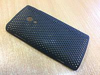Бампер-накладка для  Sony Ericsson Xperia X10 (черный)