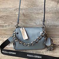 Женская кожаная сумочка Polina & Eiterou, фото 1