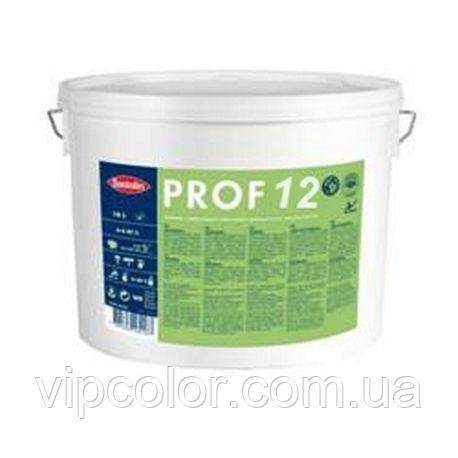 Sadolin PROF 12 Белая 2,5 л шелковисто-матовая краска для внутренних работ