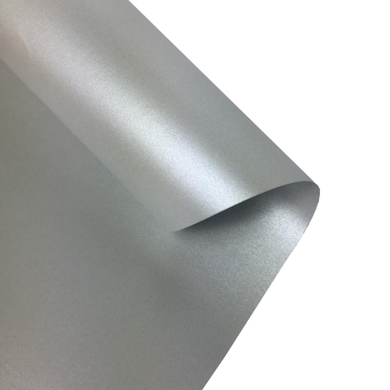 Бумага для дизайна Folia 50 х 70 см, серебро