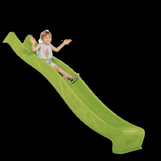 Горка детская пластиковая 2.2м Салатовая