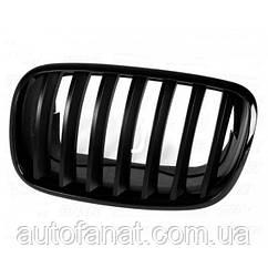 Оригінальна чорна решітка радіатора ліва M Performance BMW X5 (E70, E71, E72) (51712150247)