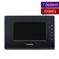 Commax CDV-71AM black цветной домофон с блоком памяти
