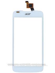 Тачскрин (сенсор) Acer E350 Liquid Gallant Duo, AK330, AK330S, AK330T, white (белый)