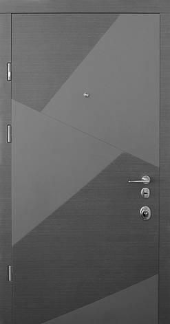 Двери квартирные, STRAJ, модель SPLINT Prestige NEW, гнутый профиль, MOTTURA 54.797 MATIC, фото 2