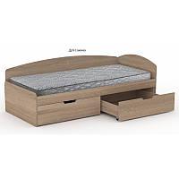 Односпальне Ліжко 90+2С Комп, фото 1