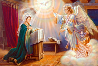 7 апреля - день Благовещения Пресвятой Богородицы