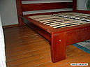 Ліжко півтораспальне в спальню, дитячу Сакура (Бук)140*200Неомеблі, фото 4