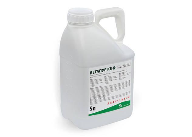 Гербицид Бетапур, Nufarm; (десмедифам 71 г/л + фенмедифам 91 г/л + етофумезат 112 г/л), для свеклы, фото 2