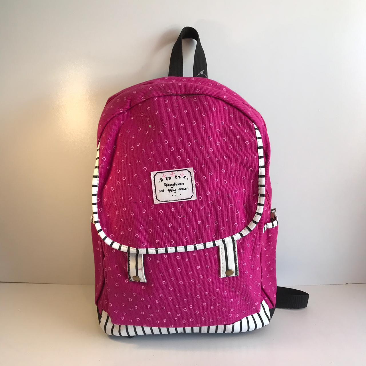 c4046c7c8907 Женский тканевый рюкзак розовый, цена 340 грн., купить в Одессе ...