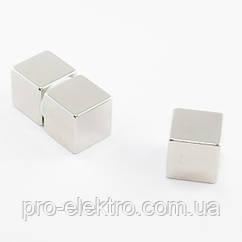 Неодимовий магніт куб 20х20х20 мм