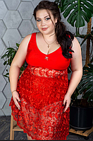 Купальник женский с кружевной юбкой, с 48-98 размер, фото 1
