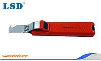 Нож-стриппер LY25-6 для снятия изоляции с кабеля 8...28мм