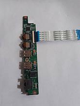 Плата USB SOUND LAN Lenovo ideapad S10-3 DAOFL5PI6D1
