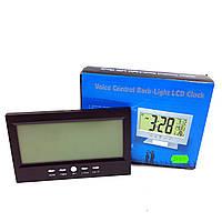 Часы №DS8082 (№8082) будильник цифр.2цв 4функц  (5,5*11*14,6см) 2R3 в бум. кор.