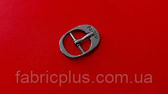 Пряжка металлическая 14 мм черненная