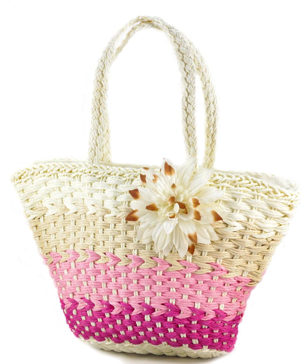 258f5ac48cfe Соломенная пляжная сумка корзина 1025-1, цена 320 грн., купить в ...