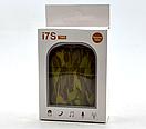 Беспроводные блютуз наушники i7s TWS (с узором), фото 2
